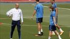 Zidane puede formar un once de centrocampistas