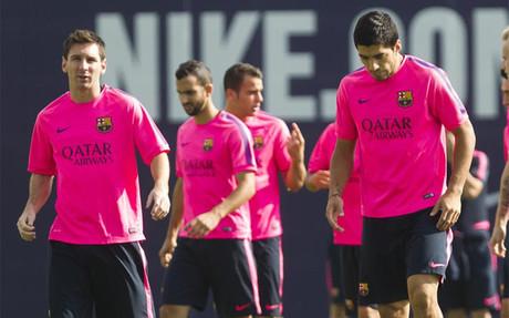 El día de Messi y Luis Suárez
