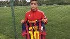 �Atenci�n: Otro Messi en Newell's!