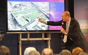 Jordi Moix, durante la presentación del Espai Barça