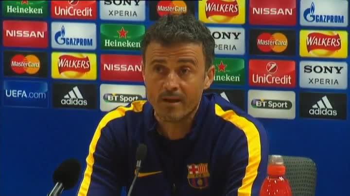 """Luis Enrique, sobre el Arsenal-Bar�a: """"Ma�ana se ver� un gran partido de f�tbol"""""""