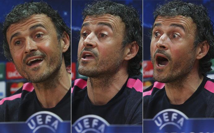 """Luis Enrique: \""""Tenemos la actitud que el PSG requiere\"""""""
