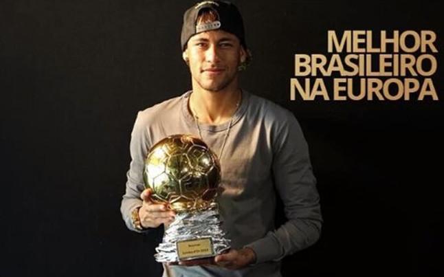 Neymar, premio Samba de Oro por segundo a�o consecutivo