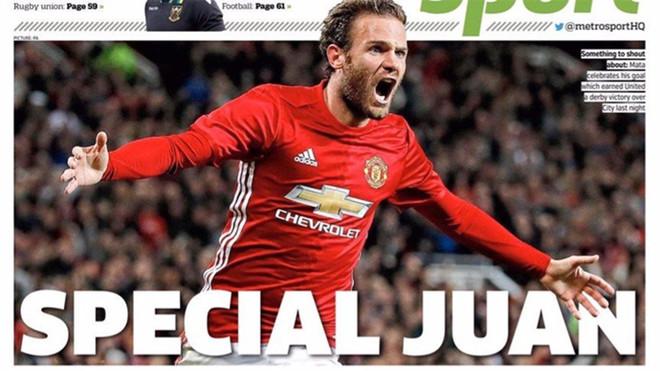 Portada del diario Metro Sport.