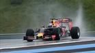 Ricciardo durante los test de Pirelli en Paul Ricard