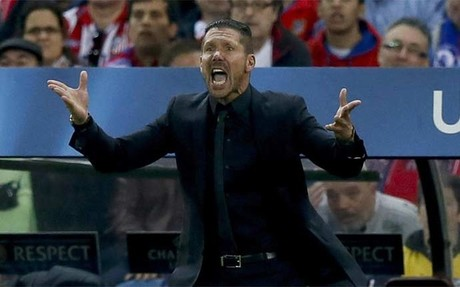 "Simeone: ""No pudimos encontrar el gol"""