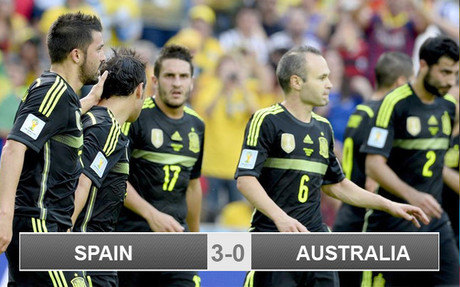 Spain won but are still heading home