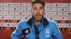 Sergio Ramos defendi su presencia en la rueda de prensa