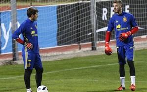 Casillas y De Gea luchan por un puesto