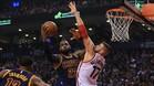 LeBron James, contra Toronto Raptors