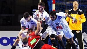 Francia tuvo que emplearse a fondo este domingo ante Noruega (31-28)