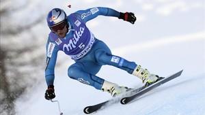 Aksel Lund Svindal tuvo que operarse la rodilla derecha por segunda vez en un año