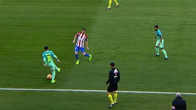 Video resumen: El gesto mágico de Neymar en el Atlético - FC Barcelona (1-2)