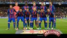 Este once no pasó la eliminatoria poero salió del Campo Nou aclamado por una afición orgullosa de ellos