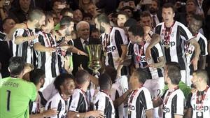 La Coppa es el primero de los tres títulos que quiere conquistar la Juventus