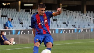 El capitán Sergi Palencia lidera al Barça B ante la Cultural Leonesa