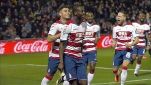 Adrián Ramos es el buque insignia del Granada en su objetivo de regresar a la Liga Santander