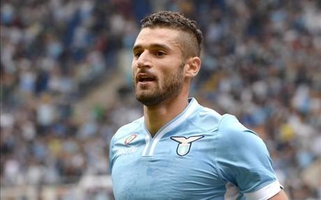 Antonio Candreva juega en la Lazio