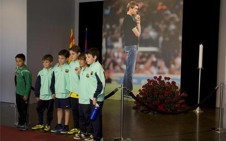 El barcelonismo y el mundo del f�tbol arroparon a Tito en sus �ltimos momentos