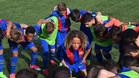 El Barça golea al Madrid en el Miniclásico