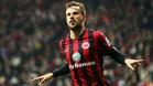 Haris Seferovic, exjugador de la Real Sociedad, ahora en las filas del Eintracht
