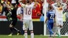 Juanfran, decepcionado por el KO ante Italia
