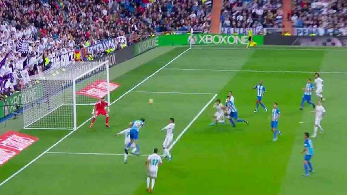 LALIGA | Real Madrid - Málaga (3-2): El gol anulado a Baysse