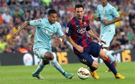 Messi marc� uno de los golazos de la jornada ante el Granada