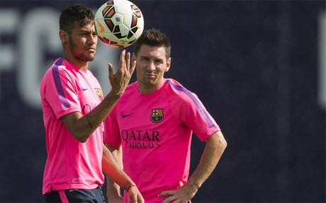 Messi y Neymar fueron decisivos contra el Eibar