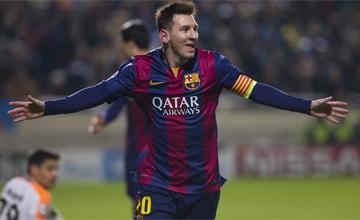 �Y Messi super� el r�cord de Ra�l!