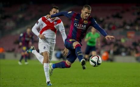 Sandro fue uno de los destacados ante el Huesca