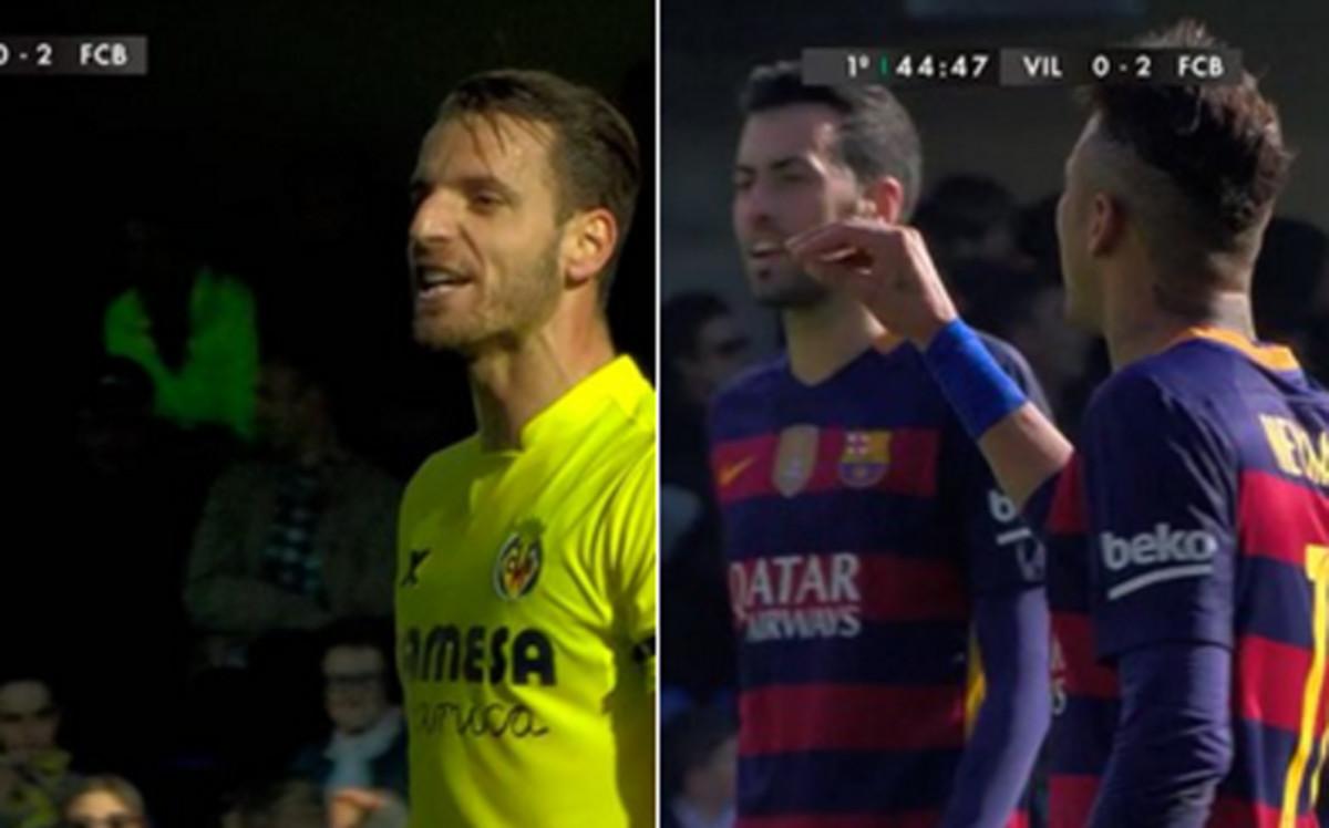 """Soldado a Neymar: """"Eres un payaso"""""""