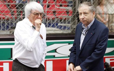 Todt, junto a Bernie Ecclestone en el pasado Gran Premio de M�naco