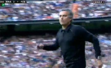 "Estas im�genes demuestran que Mourinho grit� \""hijo de puta\"" a Alves"
