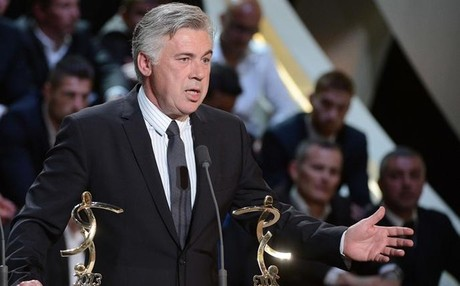 Ancelotti recogi el que quiz ser su ltimo galardn en Francia