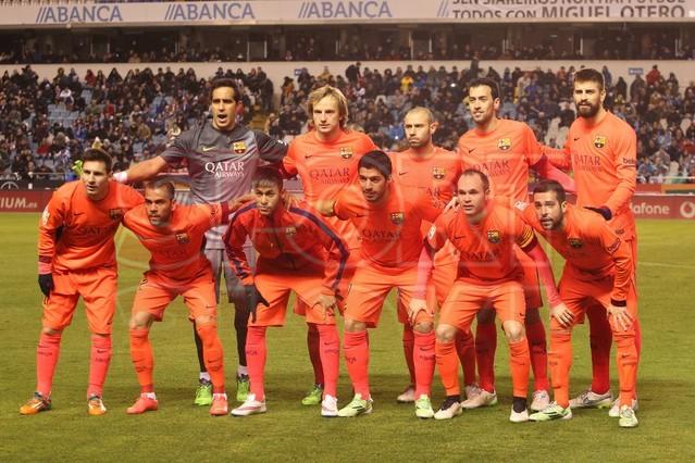 صور : مباراة ديبورتيفو لاكورونيا - برشلونة 0-4 ( 18-01-2015 )  1421614440182