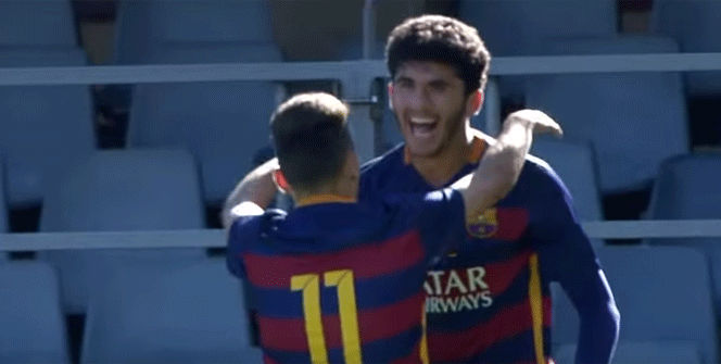 El golazo de Carles Aleñà en la UEFA Youth League