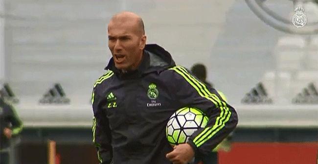 El Real Madrid entrena pensando en el derbi