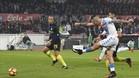 Hamsik marcó el segundo gol del Nápoles con este zurdazo