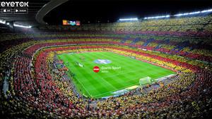 SPORT regalaba dos entradas para el Barça - Las Palmas a través de Eyetok
