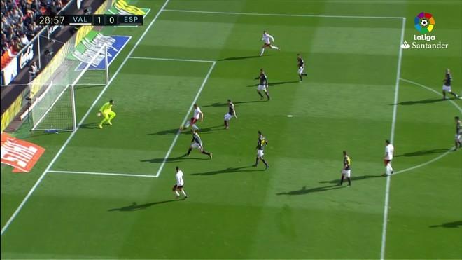 Video resumen Valencia - Espanyol (2-1). J18 Liga Santander 2016-17