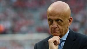 Collina sustituye a Villar en presidencia Comisión de Árbitros de FIFA