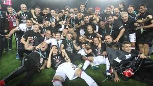 El Besiktas, campeón de la Liga turca