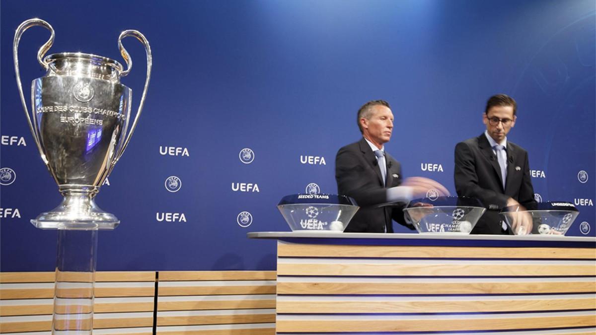 Se sortearon las fases previas de la Champions League