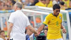 Scolari siempre ha apostado por Paulinho