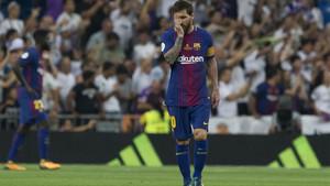 La desesperación de Messi lo dice todo