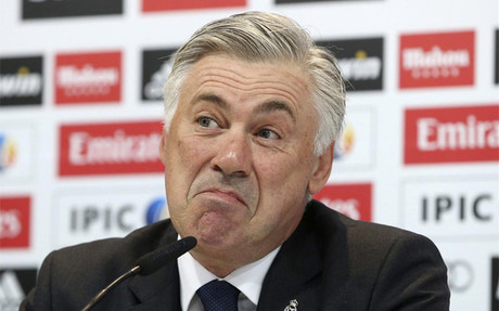 "Ancelotti: ""Tengo que rectificar lo que dije de Blatter"