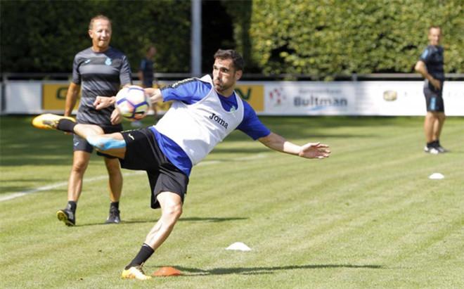 Arbilla no ha acudido al entrenamiento del Espanyol