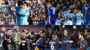 Barça, City, PSG y Nápoles comparten un inicio de liga arrollador