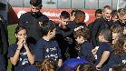 El Barça y su Fundación se han unido a la campaña global de UNICEF #KidsTakeOver. Varios niños fueron protagonistas del entrenamiento del primer equipo del conjunto azulgrana